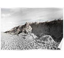 dunes after the big storm Poster
