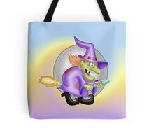 Happy Witch, tote, pillow, case Tote Bag