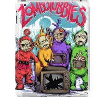 Zombotubbies iPad Case/Skin