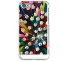 Coloured pencils iPhone Case/Skin