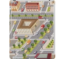 Retro city iPad Case/Skin