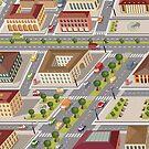 Retro city by Alexzel