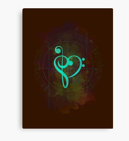 Sound of Heart Canvas Print