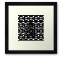 Margin Sculpture Framed Print