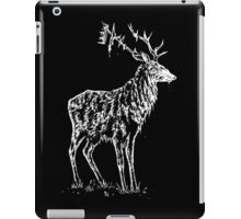 Stag and crown iPad Case/Skin