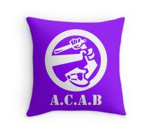 All Cops Are Bastards Throw Pillow