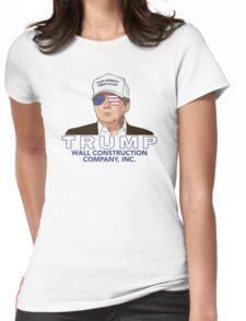 Trump - Wall Construction Co. Shirt Womens Fitted T-Shirt