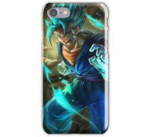 Vegetto super saiyan blue  iPhone Case/Skin