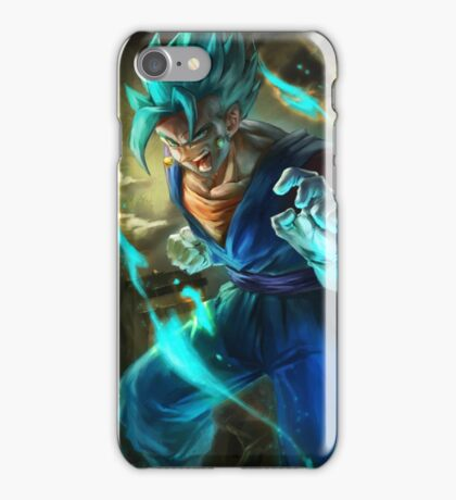 Vegetto super saiyan blue  iPhone Case/Skin