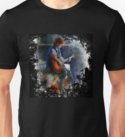 Ellie And Her Guitar Unisex T-Shirt