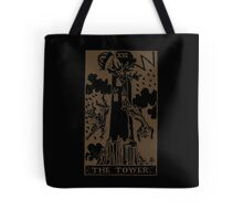 The Tower Tarot Tote Bag