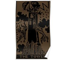 The Tower Tarot Poster