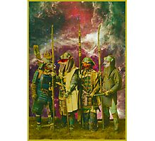 Samurai Space Guardians. Photographic Print