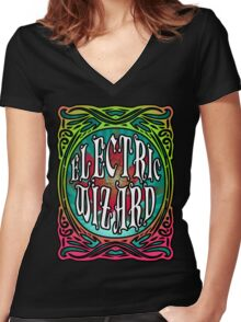 STONER DOOM ELECTRIC WIZARD Women's Fitted V-Neck T-Shirt
