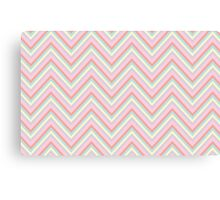 Baby Doll Chevrons Canvas Print