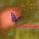 Butterfly fields by CatchyLittleArt