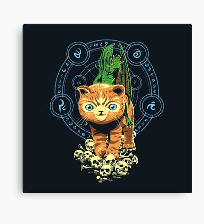 DARK CUTENESS Canvas Print