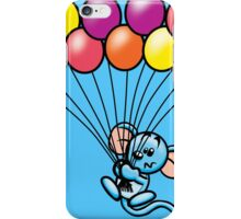 HeinyR- Blue Mouse with Balloons iPhone Case/Skin