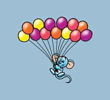 HeinyR- Blue Mouse with Balloons Unisex T-Shirt