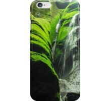 Mossy Waterfall - Nature Photography iPhone Case/Skin