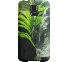 Mossy Waterfall - Nature Photography Samsung Galaxy Case/Skin