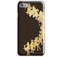 Heroes of the Fantasy (gold edition) iPhone Case/Skin