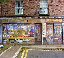 PAINTED SHOP BY DAVID HILLHOUSE (1945-2013) by gothgirl