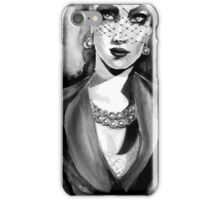 Inspired by Dior. Ink  iPhone Case/Skin