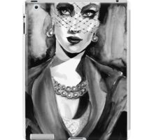 Inspired by Dior. Ink  iPad Case/Skin