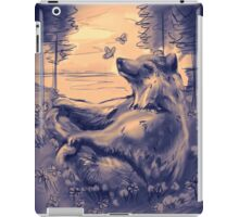 Peaceful Bluebear iPad Case/Skin
