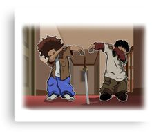The Boondocks Dab Canvas Print
