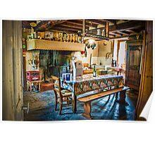 Farmhouse Kitchen Poster