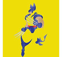 Project Silhouette 2.0: Wolverine Photographic Print