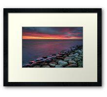 Daybreak. Framed Print