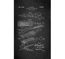 Vintage Hair Cutting Shears Patent 1942 Photographic Print