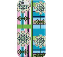 Retro patterns and fantasy flowers iPhone Case/Skin