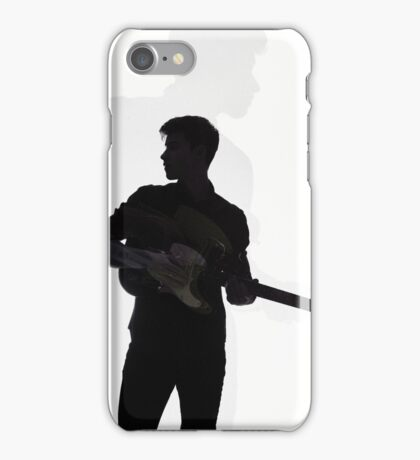 shadow guitar iPhone Case/Skin