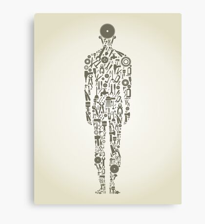 tool person Canvas Print
