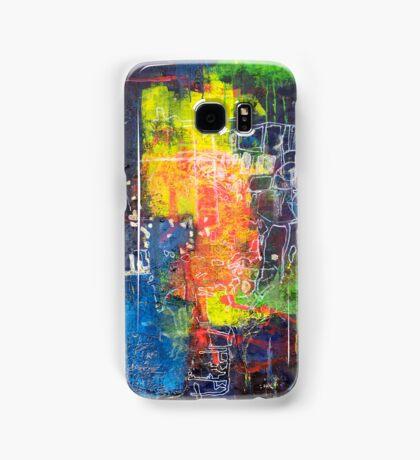 Blocks - Lines Samsung Galaxy Case/Skin