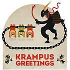 Krampus Greetings by Devil Olive
