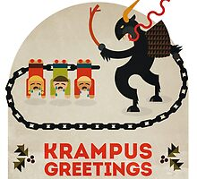 Krampus Greetings by Devil Olive