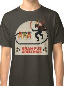 Krampus Greetings Classic T-Shirt