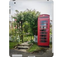 Red Phone Box iPad Case/Skin