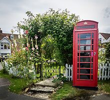 Red Phone Box by Sue Martin