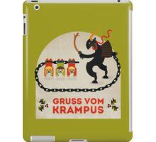 Gruss vom Krampus iPad Case/Skin