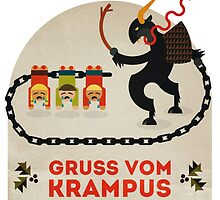 Gruss vom Krampus by Devil Olive
