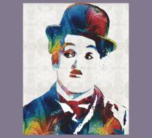 Charlie Chaplin Art - Oh Charlie - By Sharon Cummings Kids Clothes