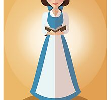 Symmetrical Princesses: Belle by Jennifer Mark