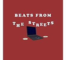 Beats From The Street Photographic Print