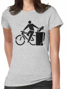 Bikes Over Cars Womens Fitted T-Shirt
